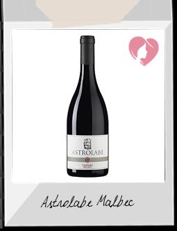 Vin Rouge - ASTROLABE MALBEC AOC CAHORS, ROUGE, 2015 - Vinovalie à BRENS (TARN)