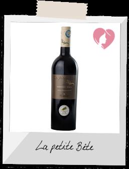 Vin Rouge - La Petite Bête Marselan-Syrah IGP des Côtes Catalanes rouge 2015 - Vignerons de Terrassous à Terrats (Pyrénées Orientales)