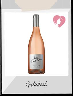 Vin Rosé - Galabert Rosé - Les Vignerons du PIC (Hérault)